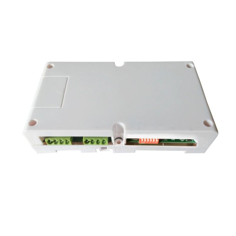 VIDEOCITOFONO 2 FILI 1 2 3 4 MONITOR LCD TOUCH FAMILIARE BIFAMILIARE CONDOMINIALE TELECAMERA (1 Amplificatore Segnale Video)