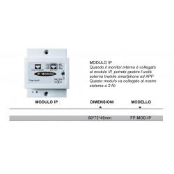 VIDEOCITOFONO 2 FILI 1 2 3 4 MONITOR LCD TOUCH FAMILIARE BIFAMILIARE CONDOMINIALE TELECAMERA (1 Modulo IP Internet)