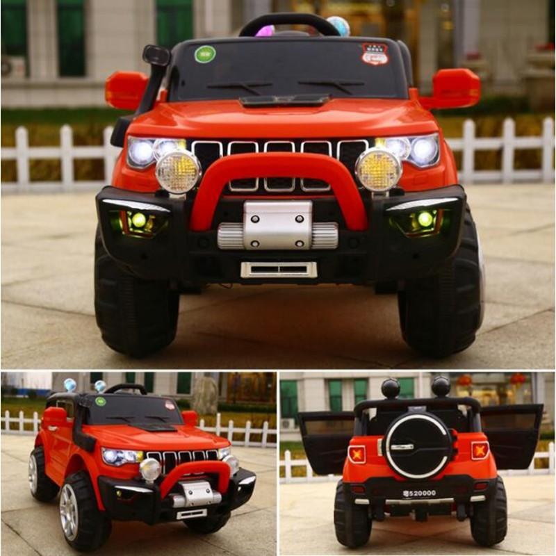 copy of AUTO ELETTRICA PER BAMBINI MACCHINA JEEP 2 POSTI 4WD 12V CON TELECOMANDO USB MP3 ROSSO