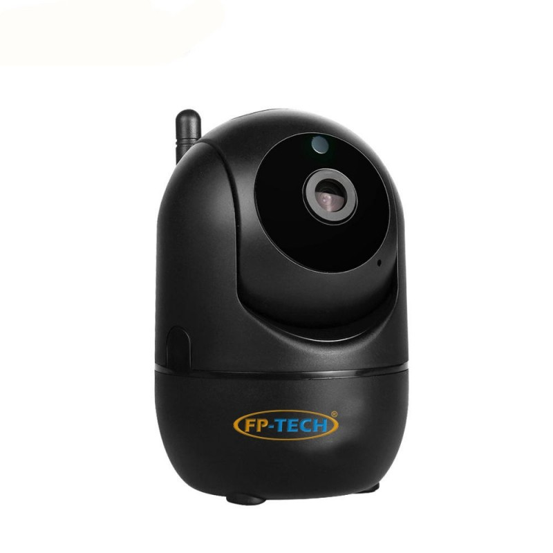 TELECAMERA VIDEOSORVEGLIANZA NERA IP HD 1080P WIRELESS PTZ 2MP ESTERNO CLOUD WIFI LED