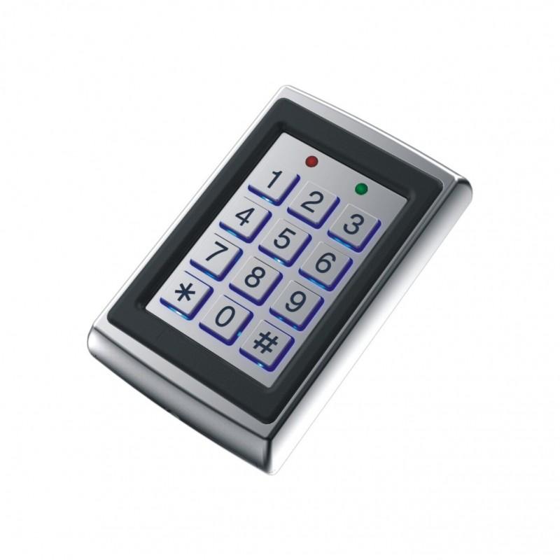 TASTIERINO CONTROLLO ACCESSI ANTISCASSO KEYPAD CON RFID CARD READER E CODICE