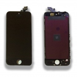 TOUCH SCREEN DISPLAY LCD RETINA SCHERMO E VETRO + FRAME PER APPLE IPHONE 5 NERO CON ATTREZZI DI SMONTAGGIO