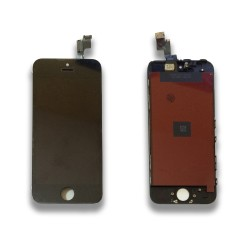 TOUCH SCREEN DISPLAY LCD RETINA SCHERMO E VETRO + FRAME PER APPLE IPHONE 5S NERO CON ATTREZZI DI SMONTAGGIO