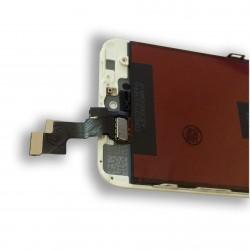 TOUCH SCREEN DISPLAY LCD RETINA SCHERMO E VETRO + FRAME PER APPLE IPHONE 5S BIANCO CON ATTREZZI DI SMONTAGGIO