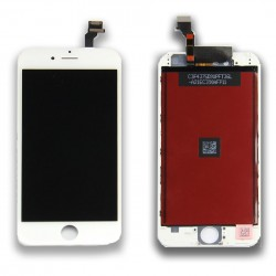 DISPLAY LCD + TOUCH SCREEN PER APPLE IPHONE 6 BIANCO TESTATO