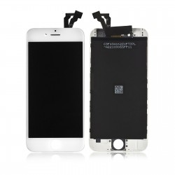 DISPLAY LCD + TOUCH SCREEN PER APPLE IPHONE 6 PLUS BIANCO TESTATO