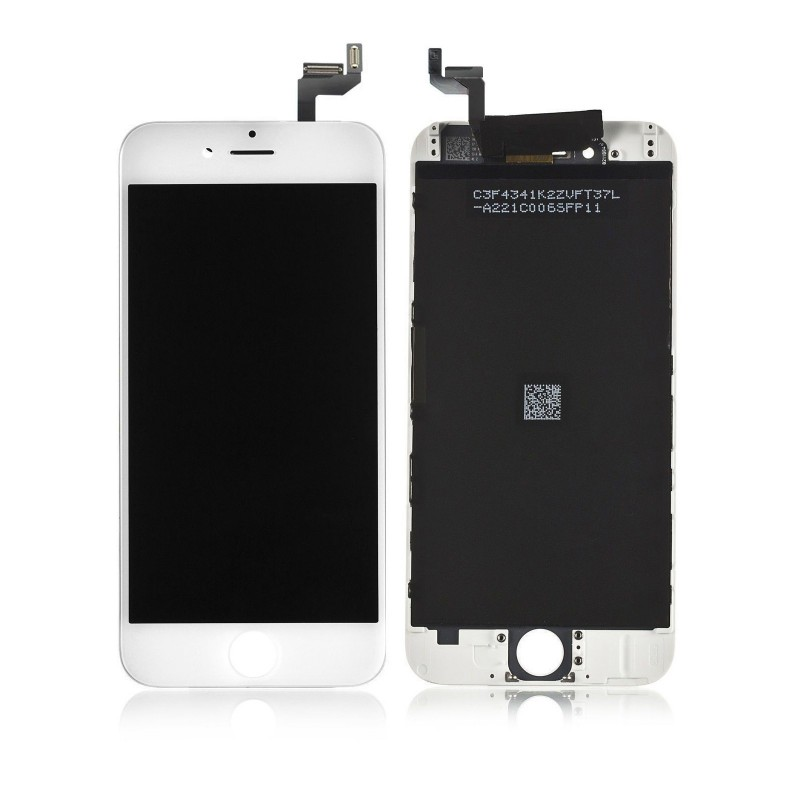 DISPLAY LCD + TOUCH SCREEN PER APPLE IPHONE 6S BIANCO TESTATO