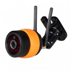 TELECAMERA VIDEOSORVEGLIANZA IP HD 720P WIRELESS ESTERNO CLOUD WI-FI LED IR WIFI