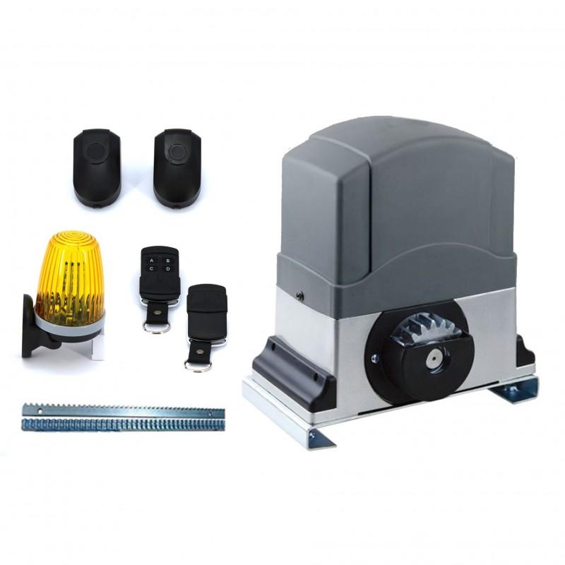 Schema Elettrico Per Automazione Cancello : Motore cancello scorrevole kg kit automazione w centralina