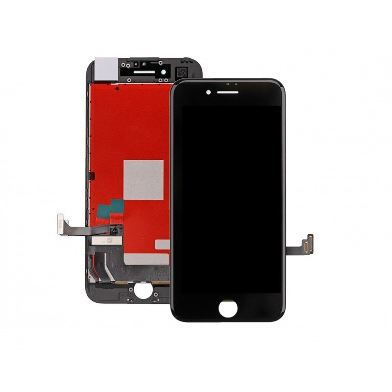 TOUCH SCREEN DISPLAY LCD RETINA SCHERMO E VETRO + FRAME PER APPLE IPHONE 7 NERO