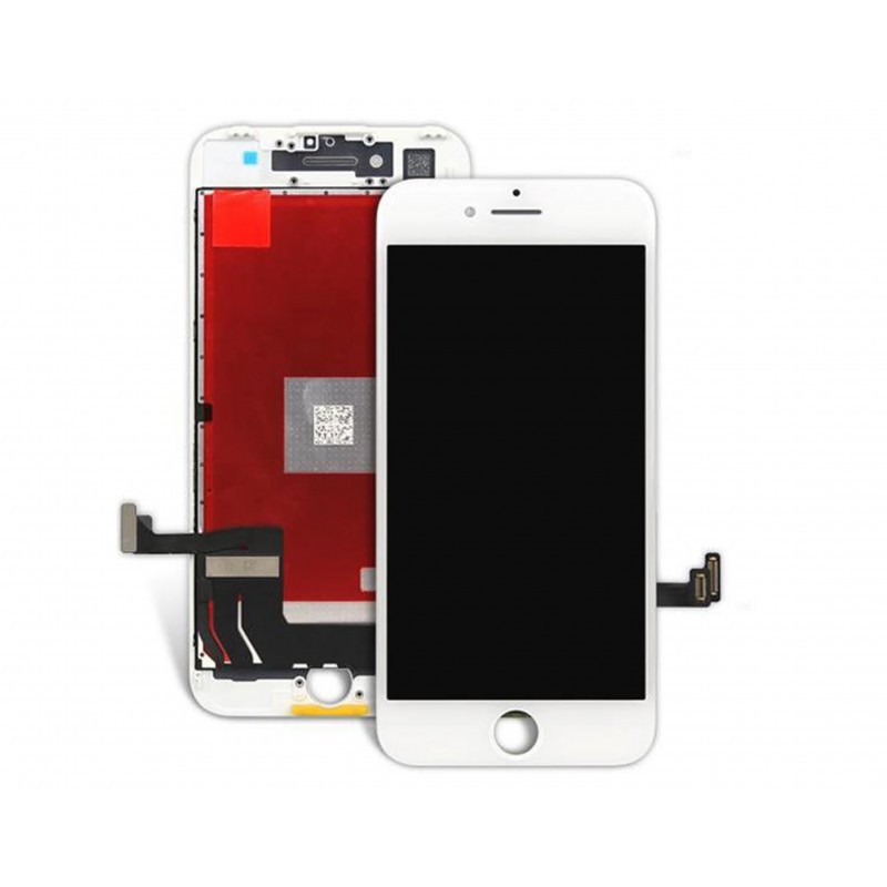 TOUCH SCREEN DISPLAY LCD RETINA SCHERMO E VETRO + FRAME PER APPLE IPHONE 7 BIANCO