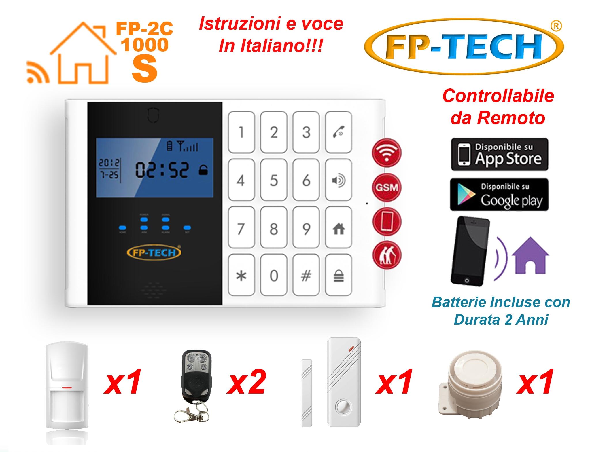 Antifurto allarme casa kit combinatore gsm wireless senza - Centralina antifurto casa prezzo ...