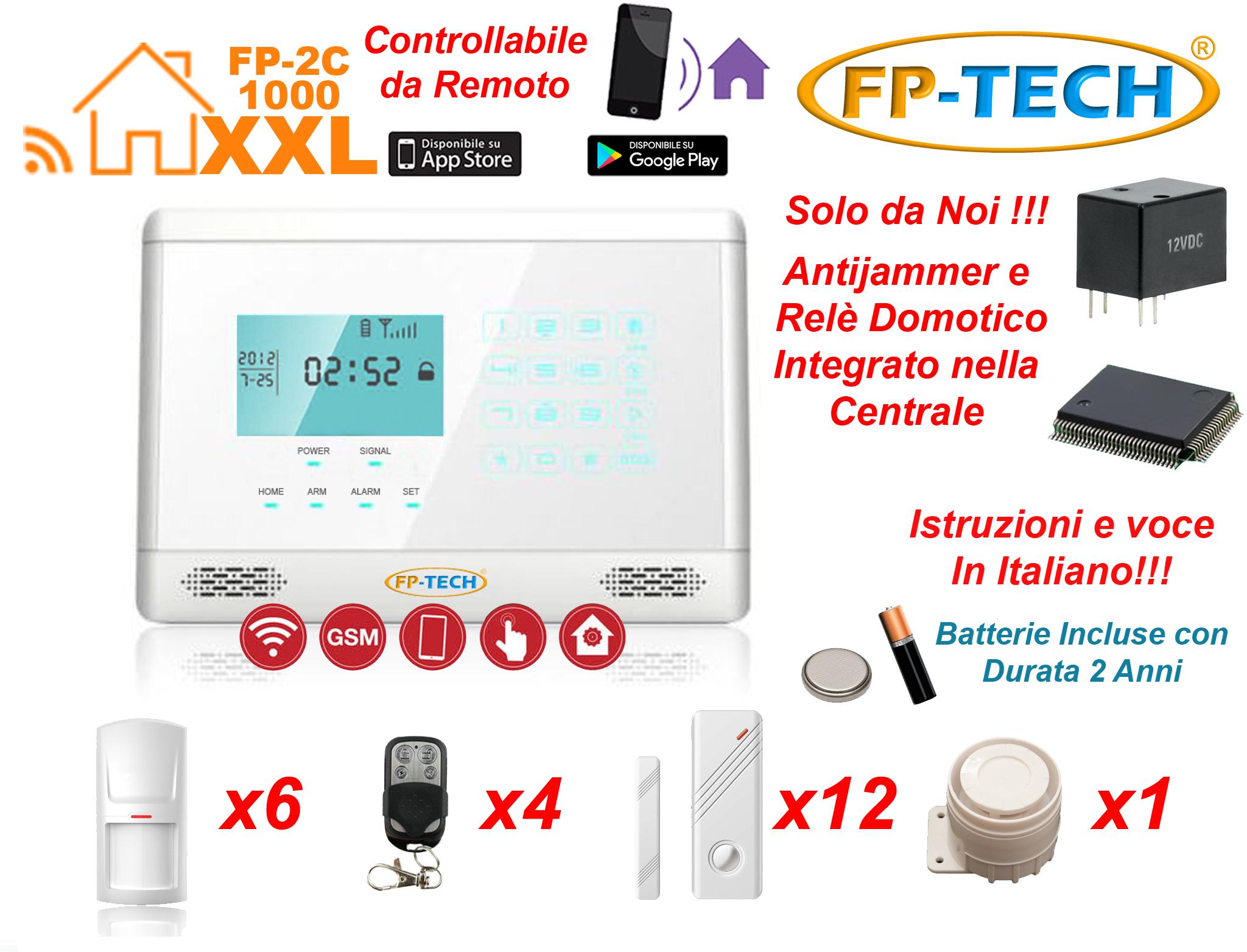 Antifurto allarme casa kit combinatore gsm wireless senza - Prezzo allarme casa ...
