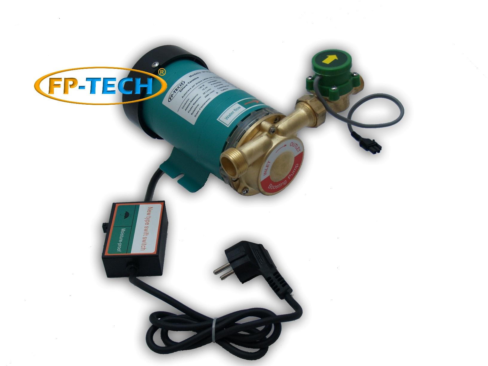 Pannello Solare Per Pompa Pozzo : Autoclave alta temperatura con pressostato per pannello