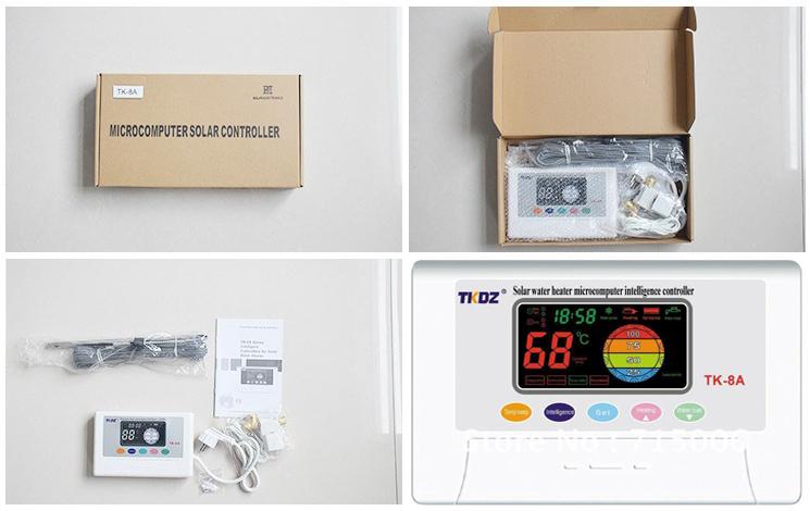 Centralina di gestione pannello solare termico - Centralina acqua per casa ...