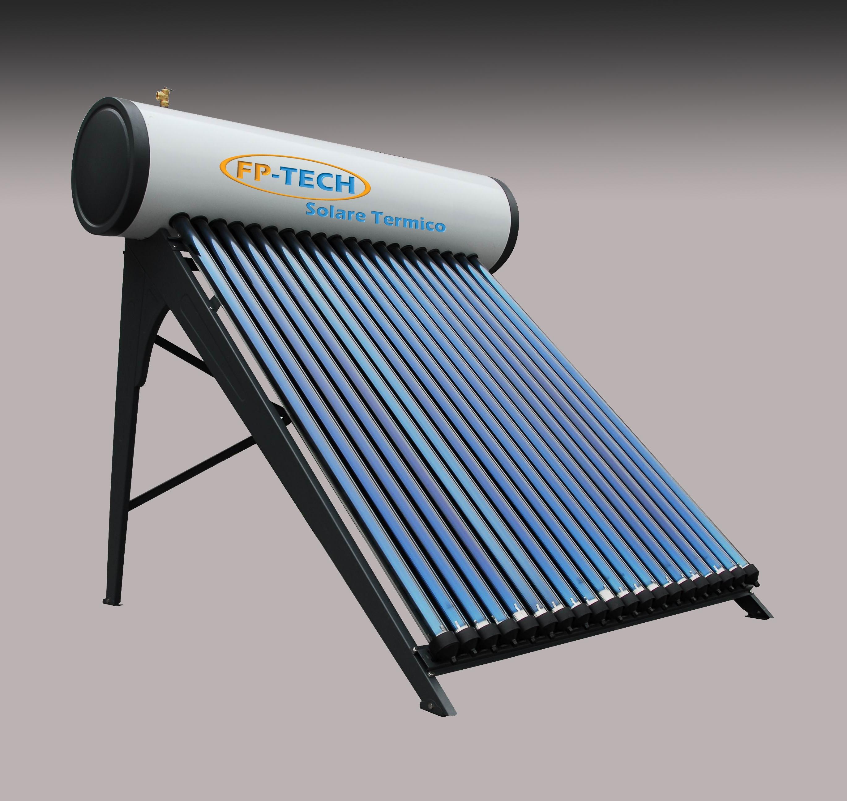 Pannello Solare Termico Hermann Prezzi : Pannello solare termico heat pipe pressurizzato lt